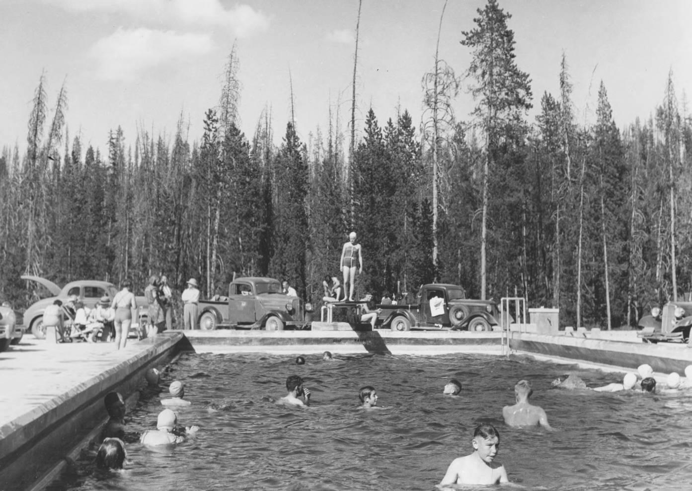 item thumbnail for Warm Lake Plunge, swimming pool