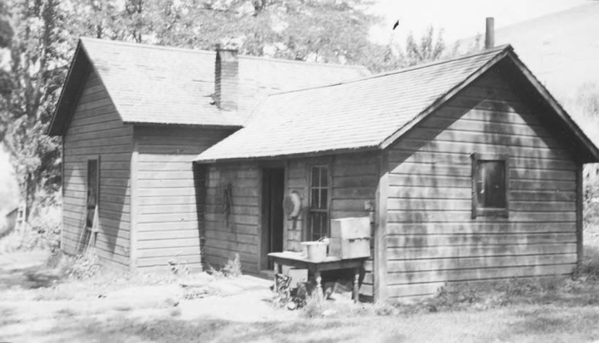 item thumbnail for Conley Seth House (rear), before repairs