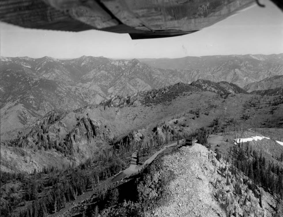 item thumbnail for Aerial View of Middle Fork Peak Lookout