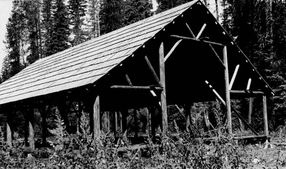 item thumbnail for Powell Ranger Station, barn