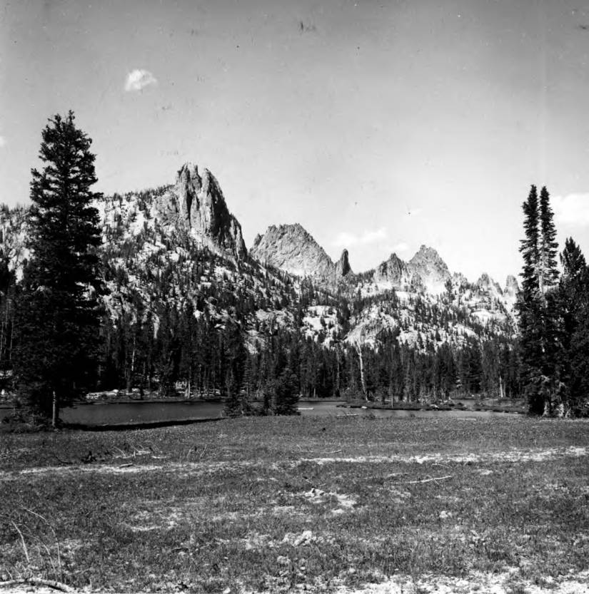 item thumbnail for View of the Crags from Welcome Lake