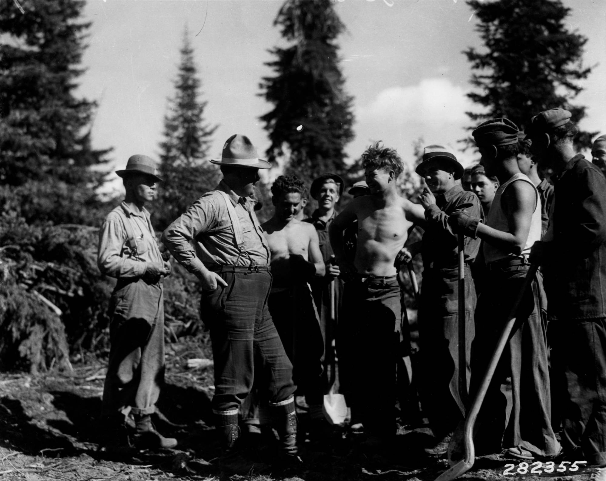 item thumbnail for Ranger McKay and 'boys' from Packers Meadow Camp F-23
