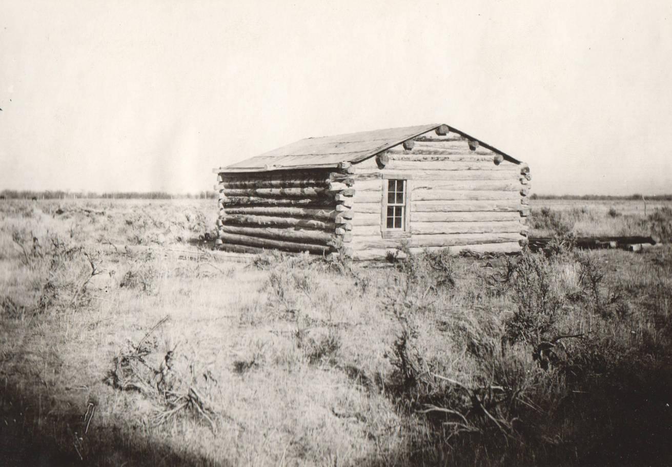 item thumbnail for Log cabin, Fort Hall Reservation