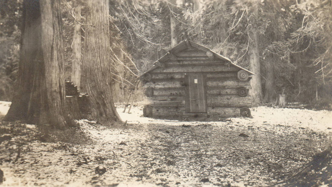 item thumbnail for Theriault cabin, possible false homestead claim, Marble Creek