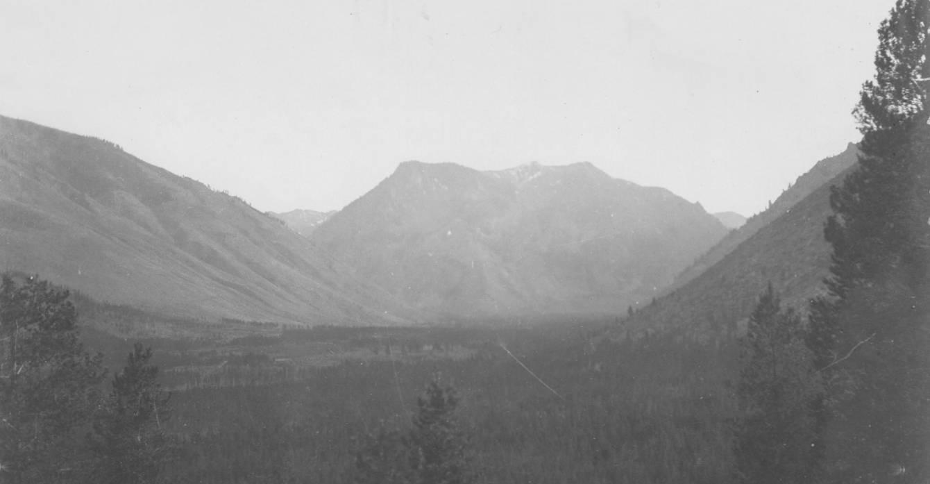 item thumbnail for Head of Big Creek, Logan Mountain in distance
