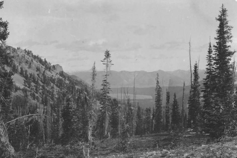 item thumbnail for East slopes of Sawtooth Range, above Alturas Lake