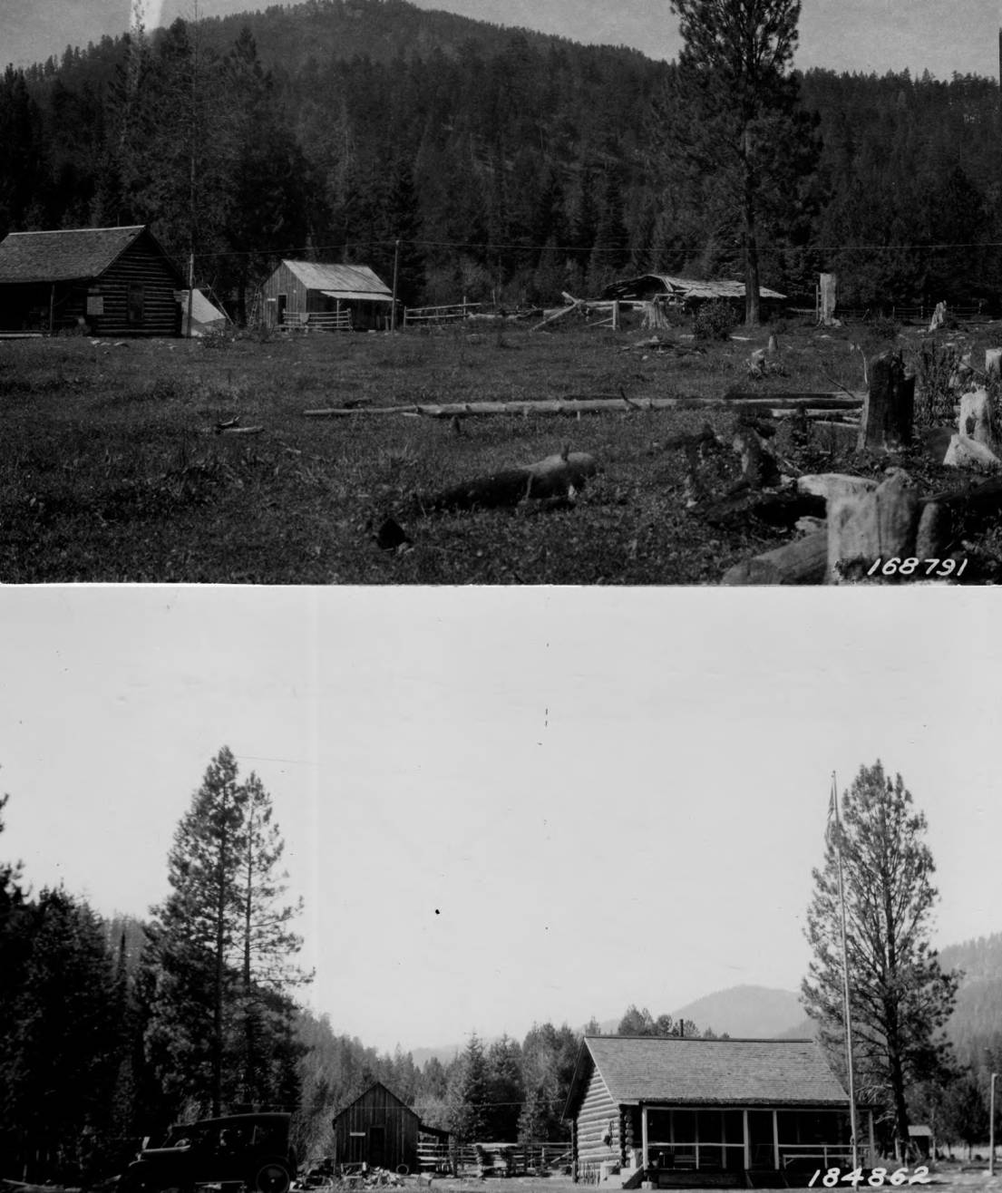 item thumbnail for Allen Ranger Station, Bitterroot National Forest