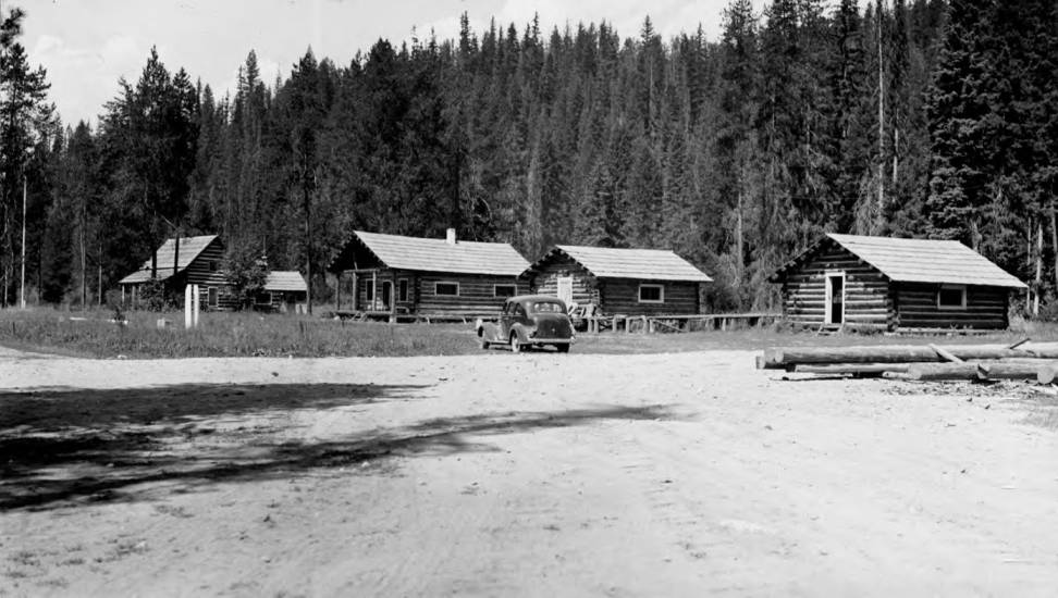 item thumbnail for Powell Ranger Station, cookhouse, bunkhouse and ware house
