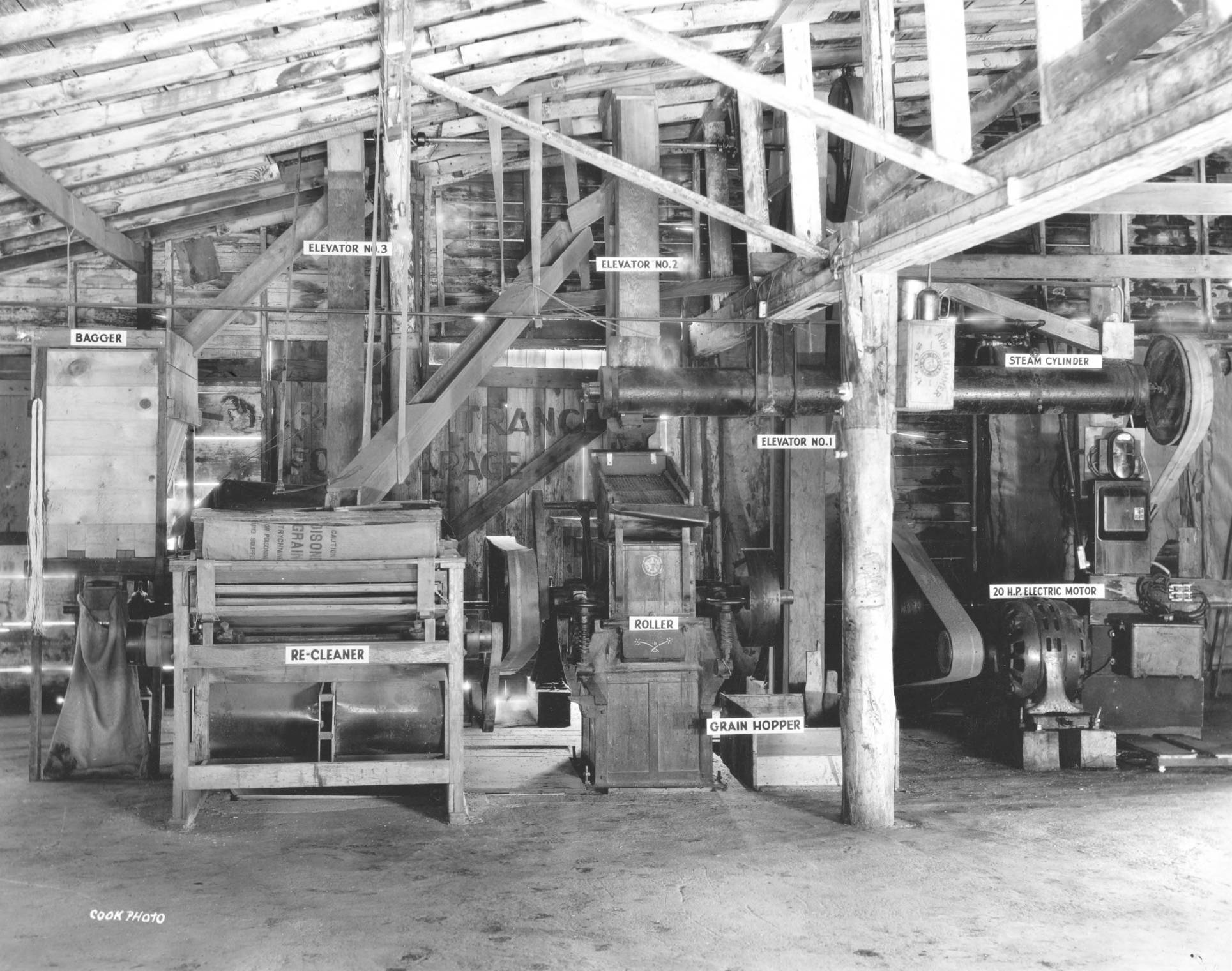 item thumbnail for USDA and University of Idaho mixing station, Interior and equipment