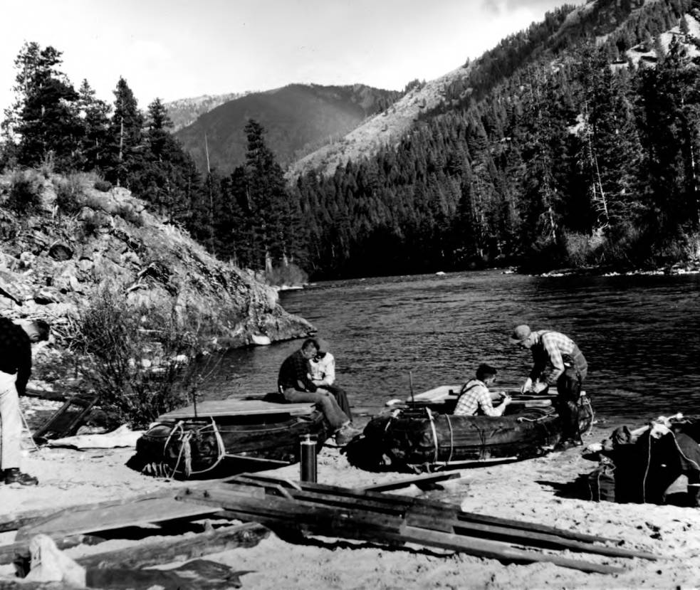 item thumbnail for Boat Party on the Middle Fork of the Salmon River
