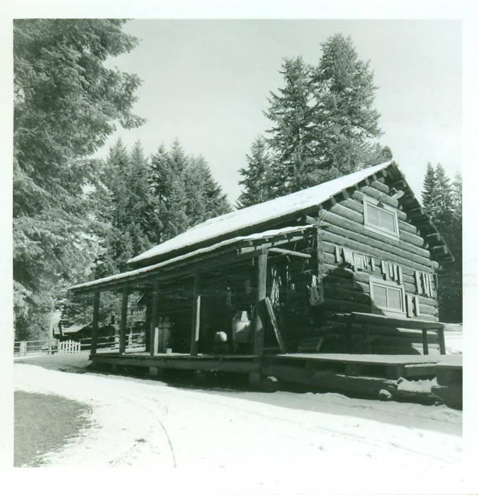 item thumbnail for Moose Creek Ranger Station, commissary building