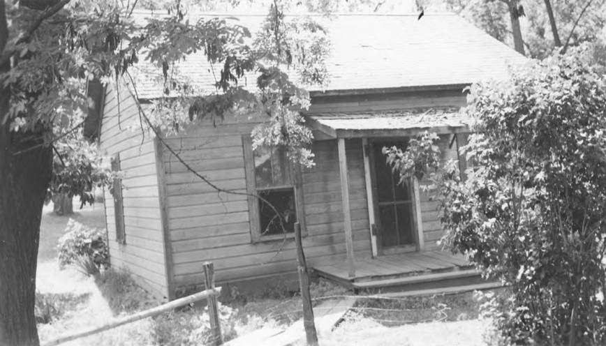 item thumbnail for Conley Seth House (front), before repairs