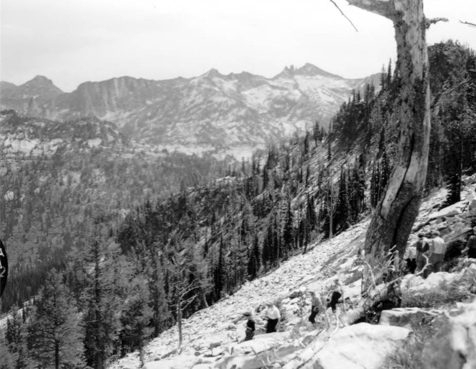 item thumbnail for Teacher group on Maude Creek Trail