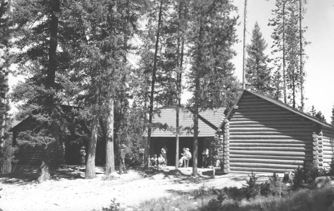 item thumbnail for Camp buildings at Billy Rice Scout Camp, Warm Lake