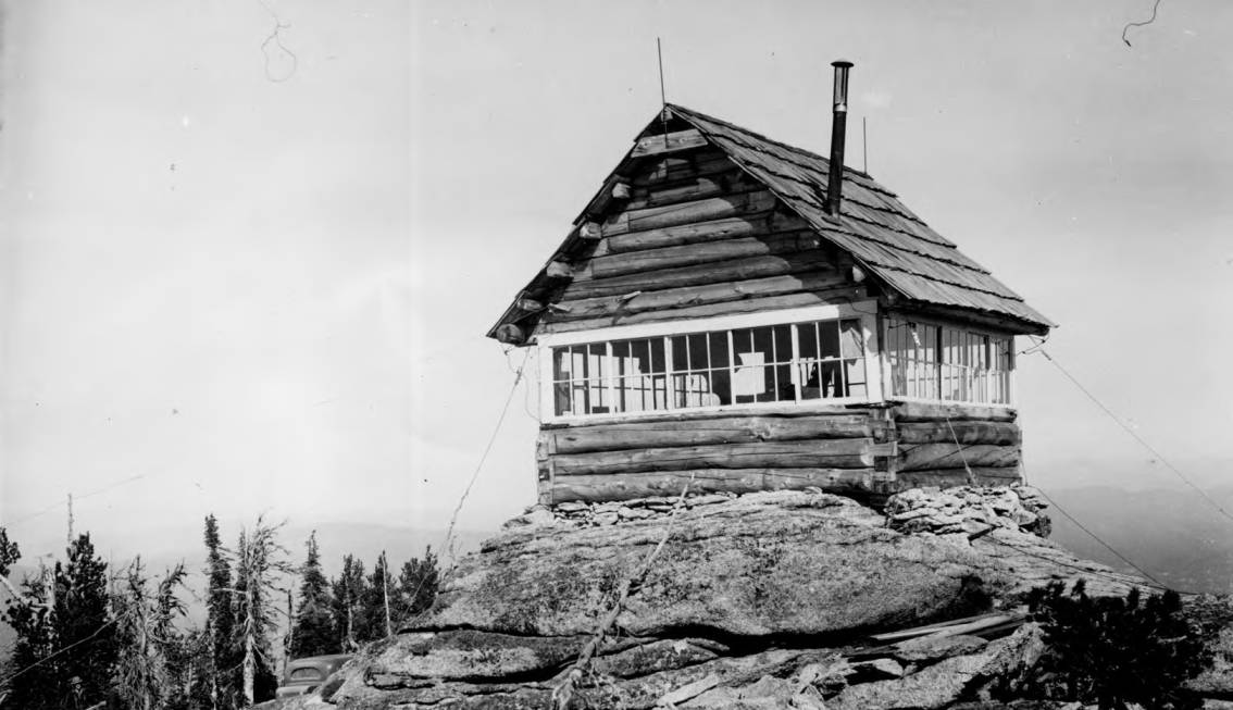 item thumbnail for Burnt Knob Fire Lookout