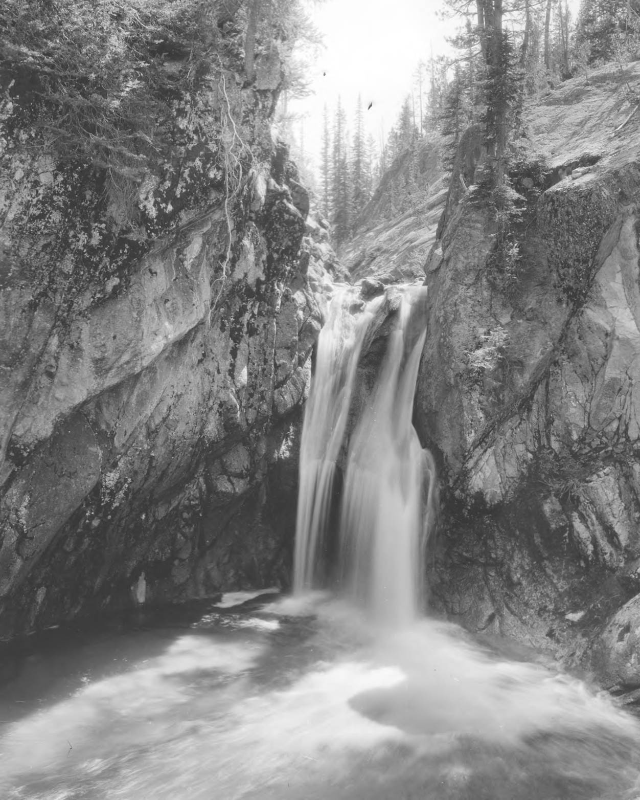 item thumbnail for Lady Lace Falls, above Stanley Lake