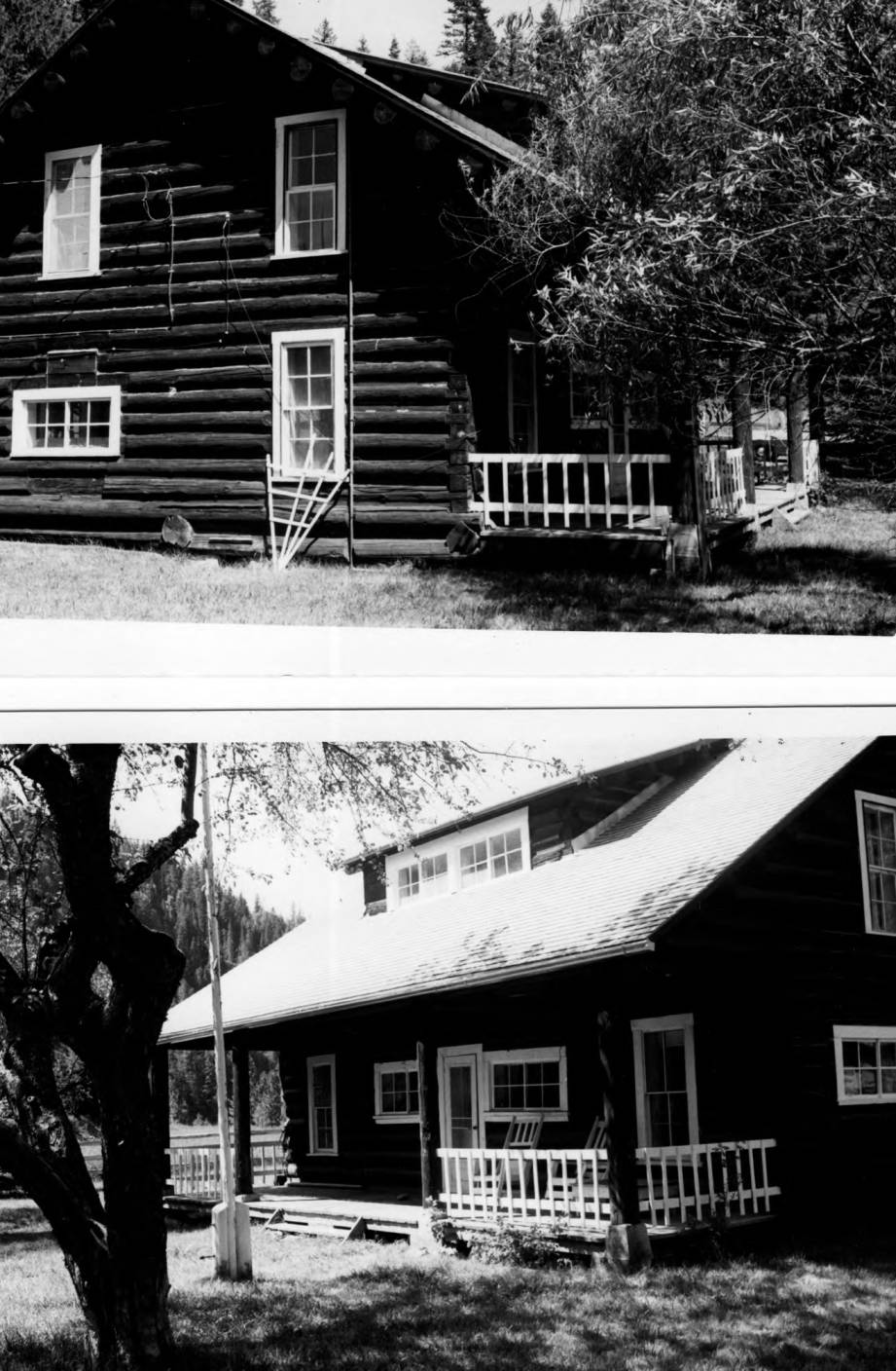 item thumbnail for O'Hara Ranger Station, main building front and side