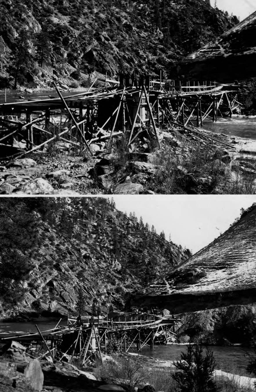 item thumbnail for Bridge construction over Crove Creek