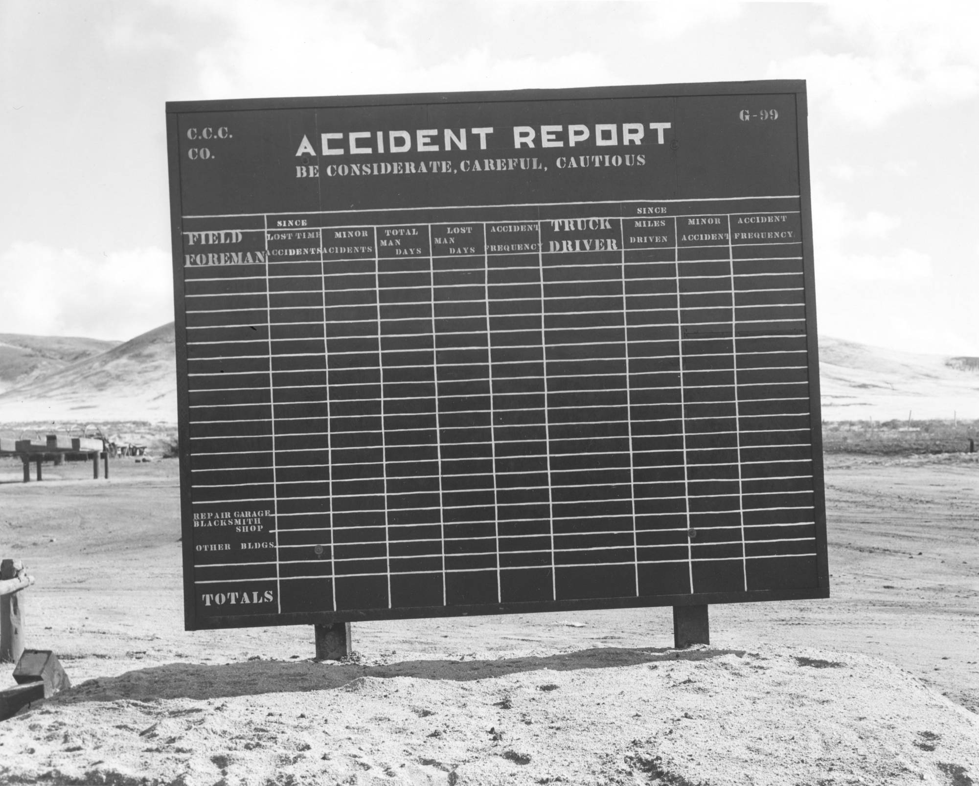 item thumbnail for CCC accident report billboard