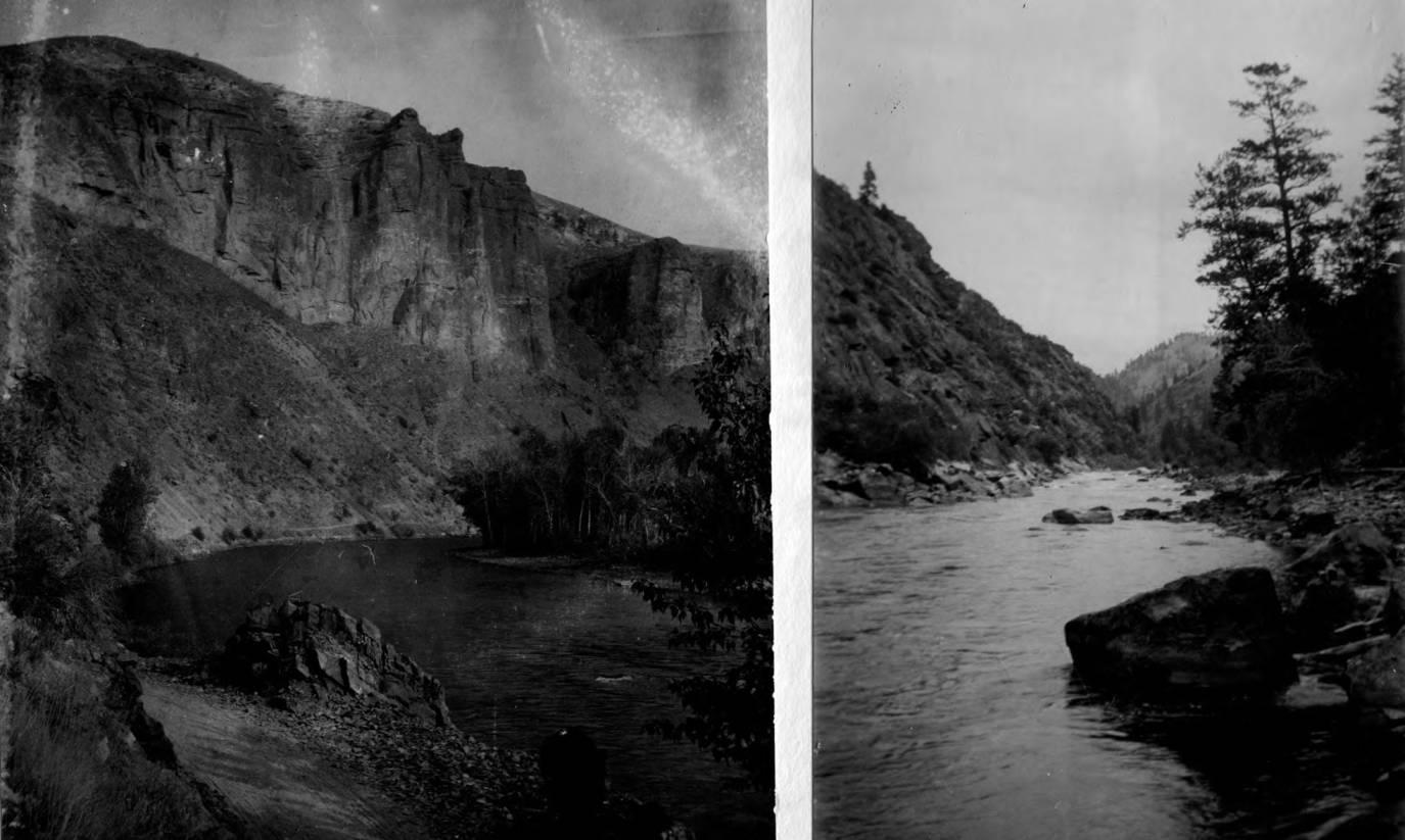 item thumbnail for East bank of Salmon River below Boyle Creek