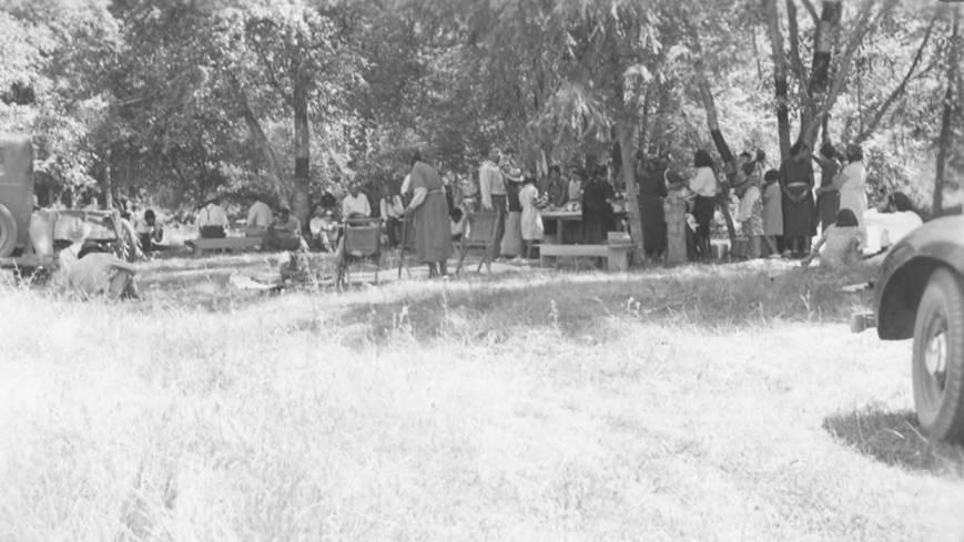 item thumbnail for Kooskia-Stites first annual garden excursion picnic