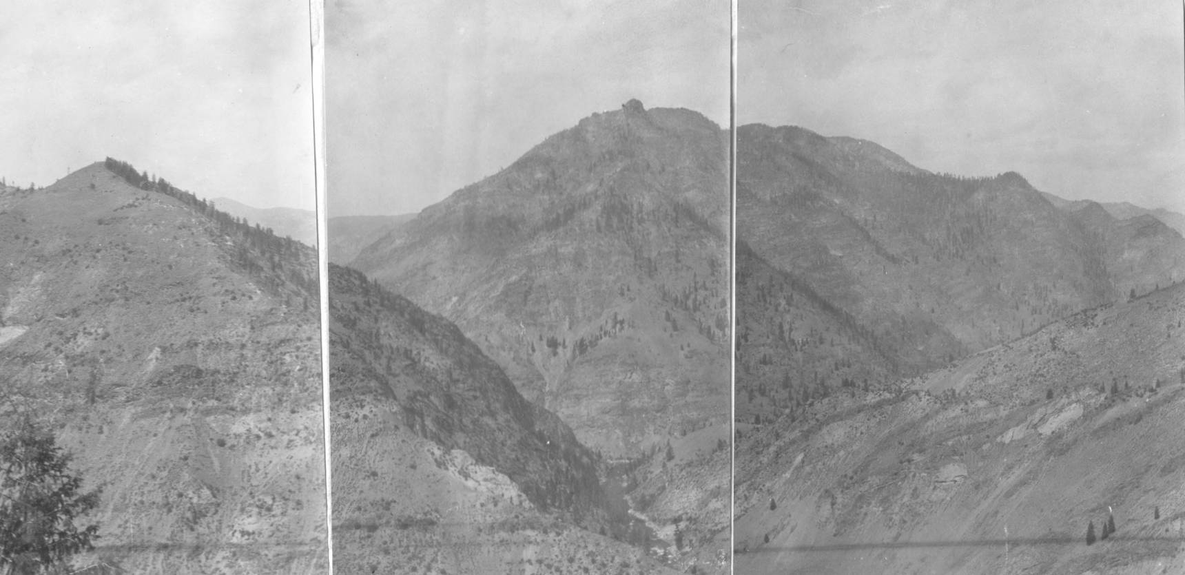 item thumbnail for Salmon River Mountains and Middle Fork of Salmon canyon 2