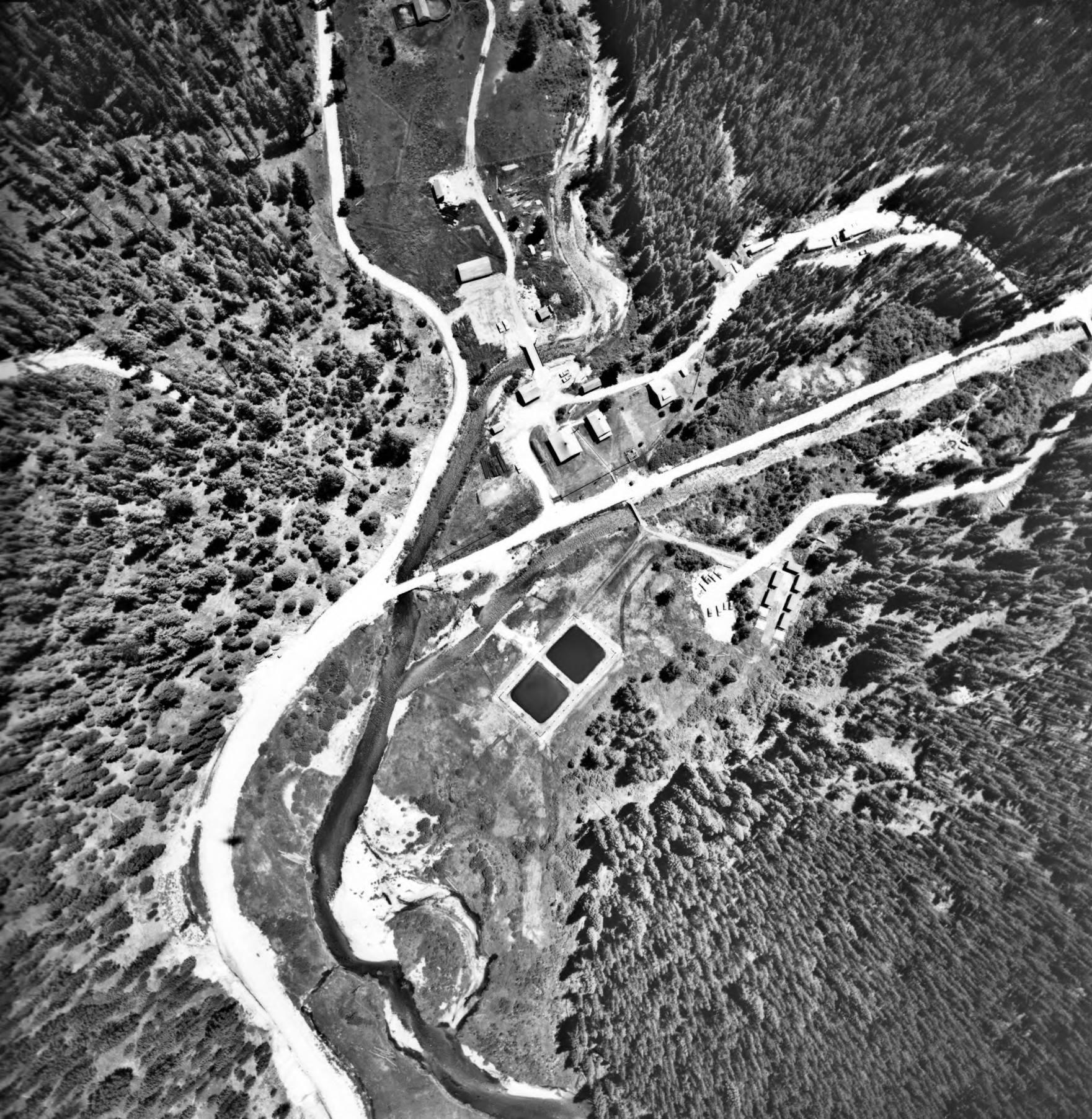 item thumbnail for Red River Ranger Station, vertical aerial
