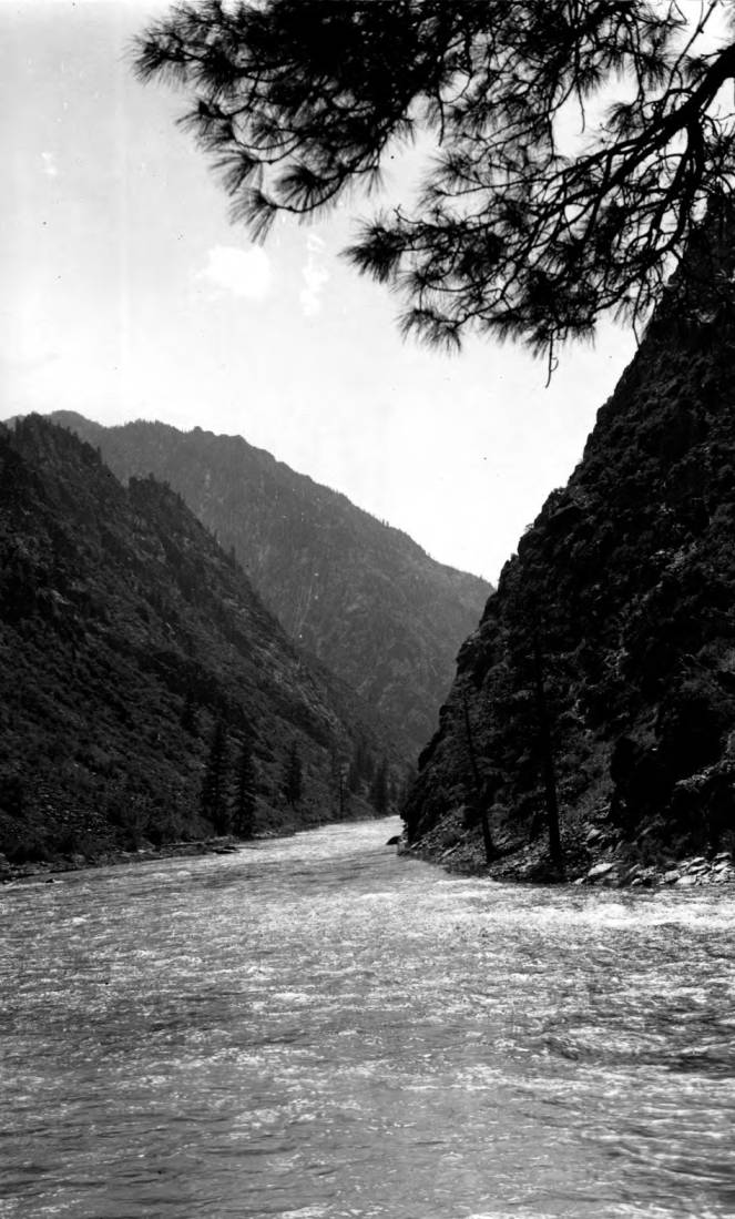 item thumbnail for Mouth of Middle Fork of the Salmon River