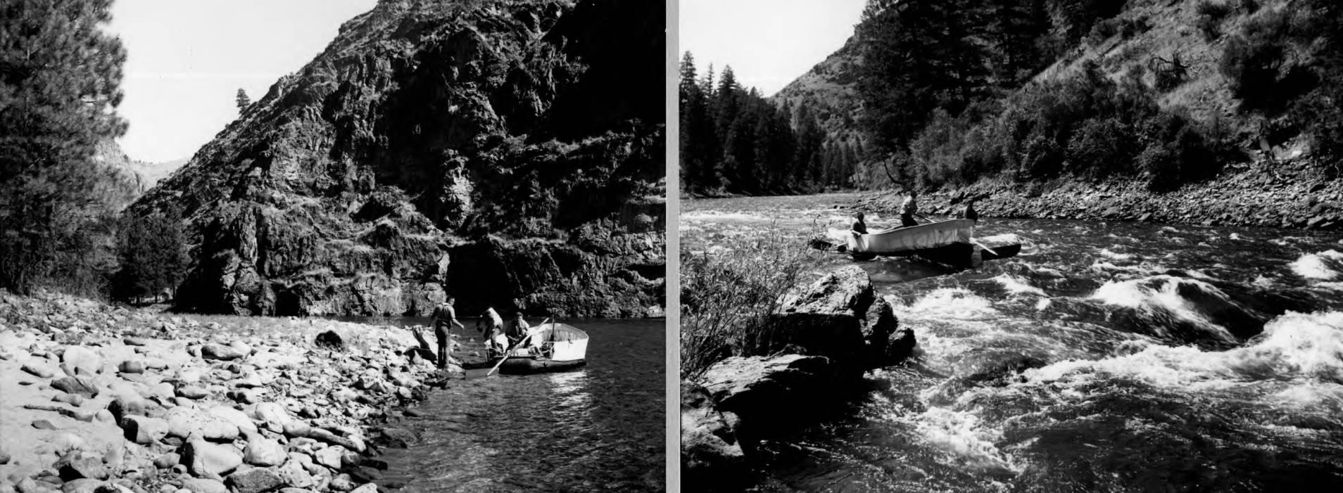 item thumbnail for Sweeping rapids below Survey Creek