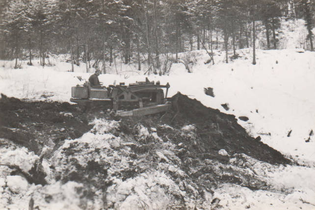 item thumbnail for Truck Trail Construction, Fords Creek