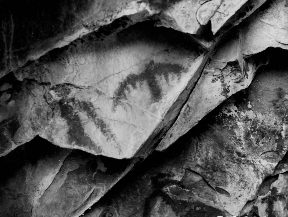 item thumbnail for Pictographs near Veil Falls