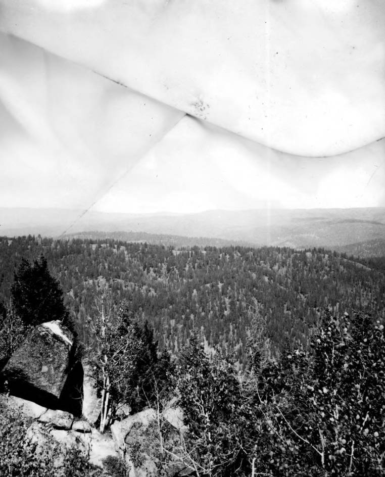 item thumbnail for A view of northern Chamberlin Basin form Root Knob Lookout