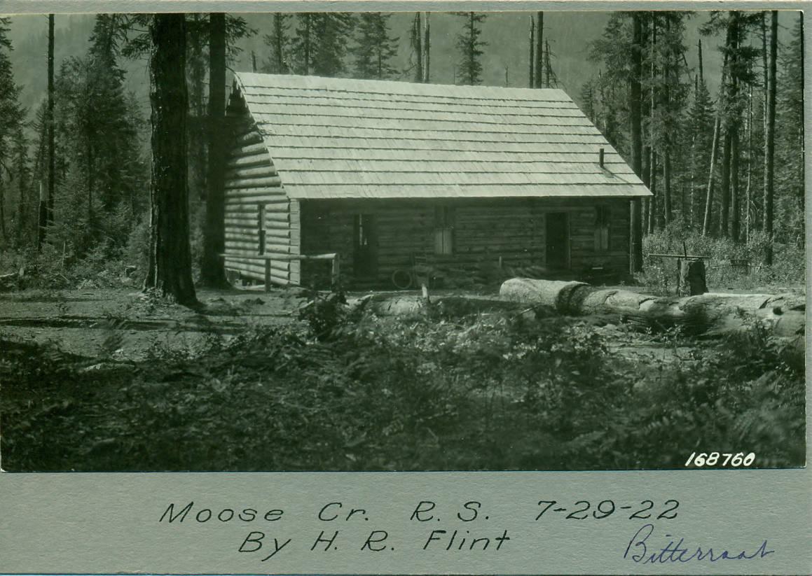 item thumbnail for Moose Creek Ranger Station, Bitterroot National Forest