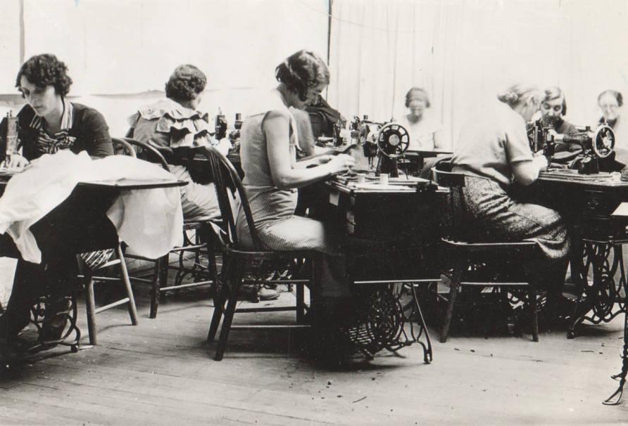 item thumbnail for WPA sewing room, Nampa