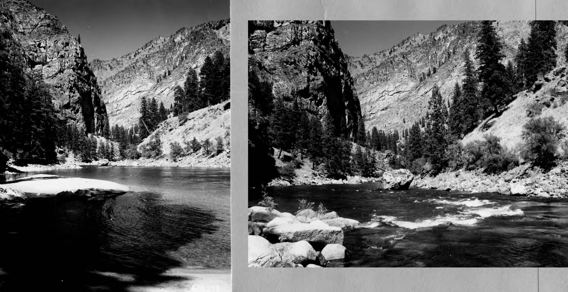 item thumbnail for Rapids on Salmon River in canyon