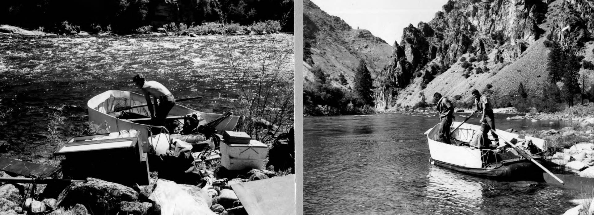 item thumbnail for Loading for float trip on Middle Fork of Salmon River