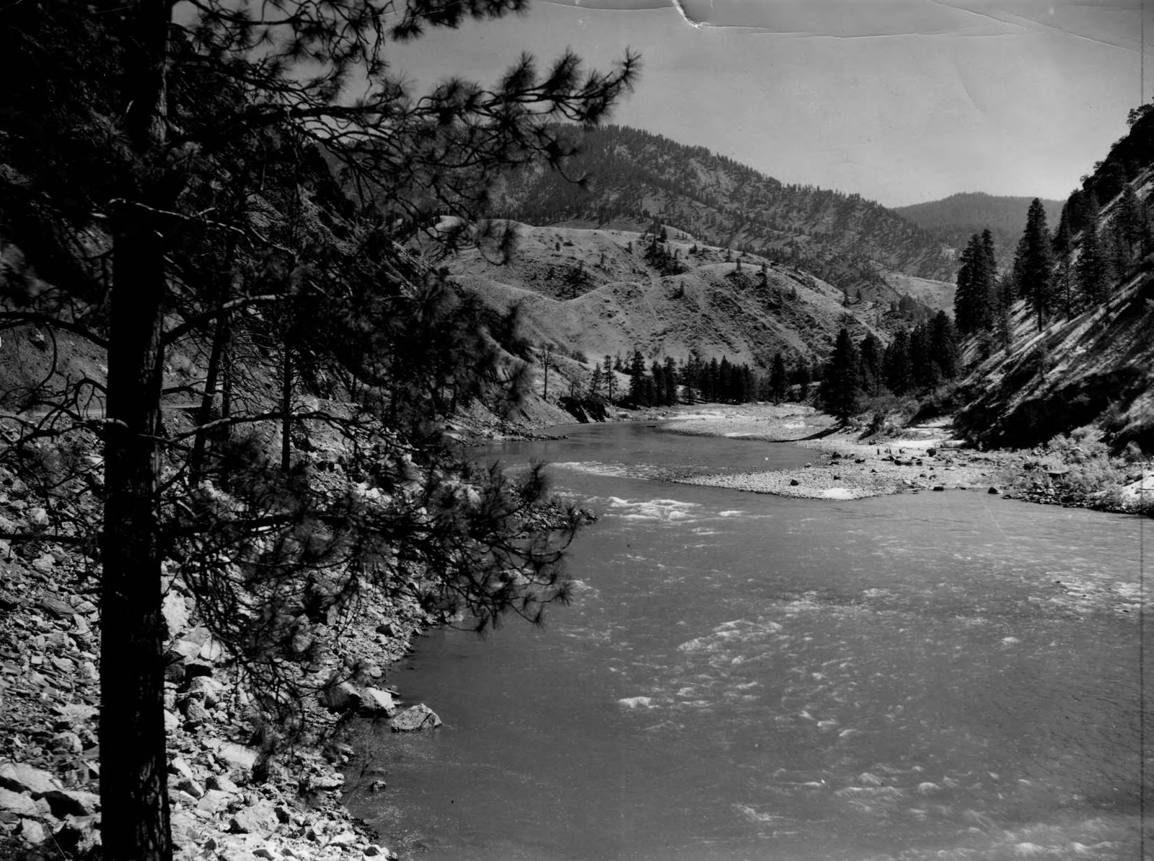 item thumbnail for Salmon River a few miles above Riggins