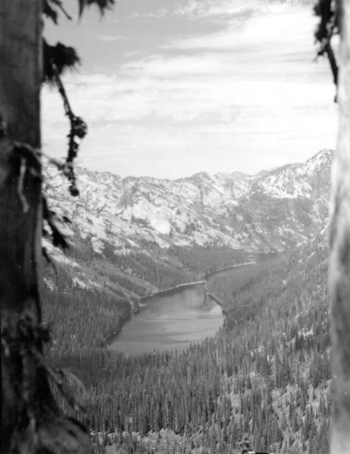 item thumbnail for Big Creek Lake from Pearl Lake Pass