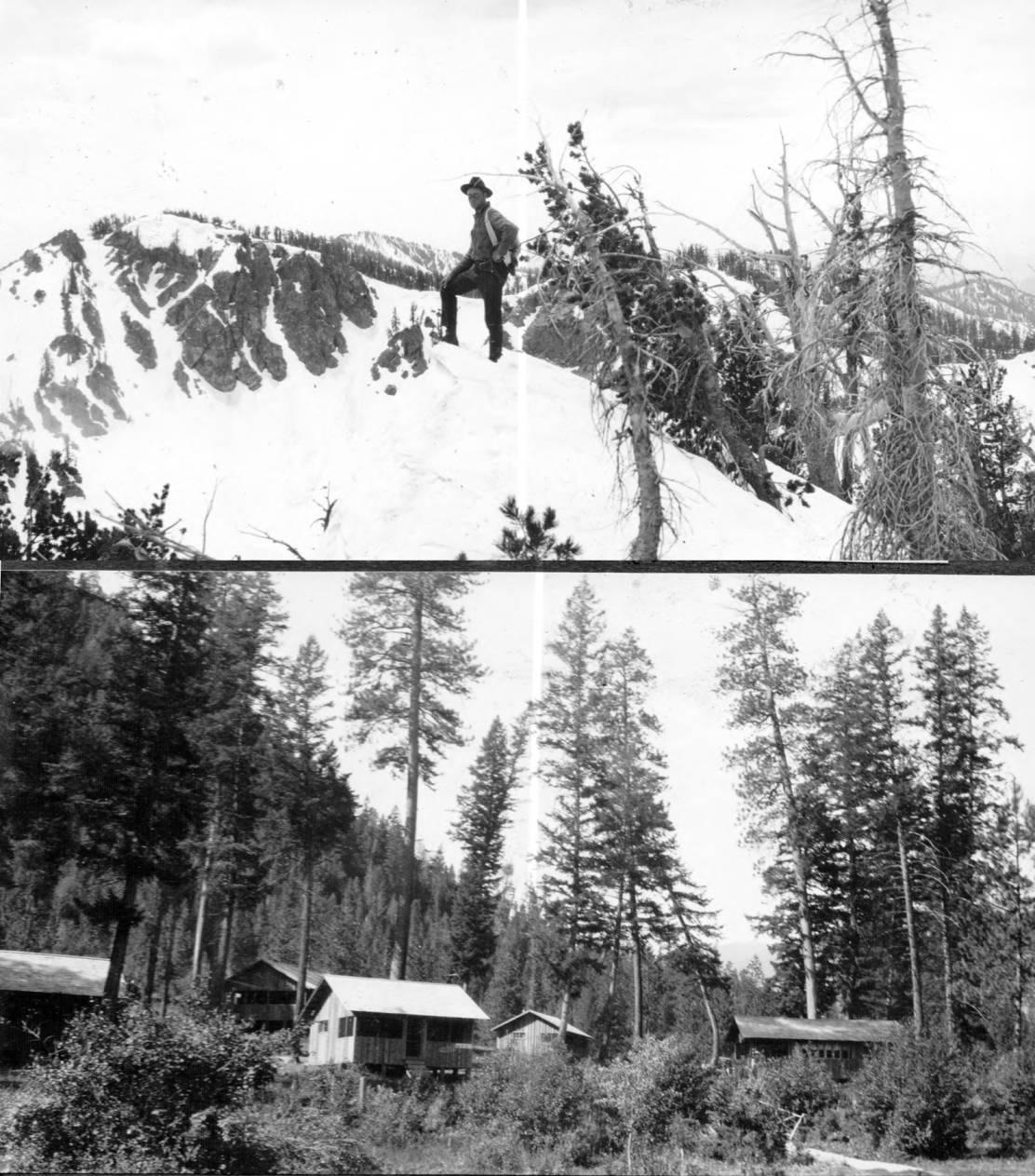 item thumbnail for Man summits near Nez Perce Creek and Medicine Hot Springs