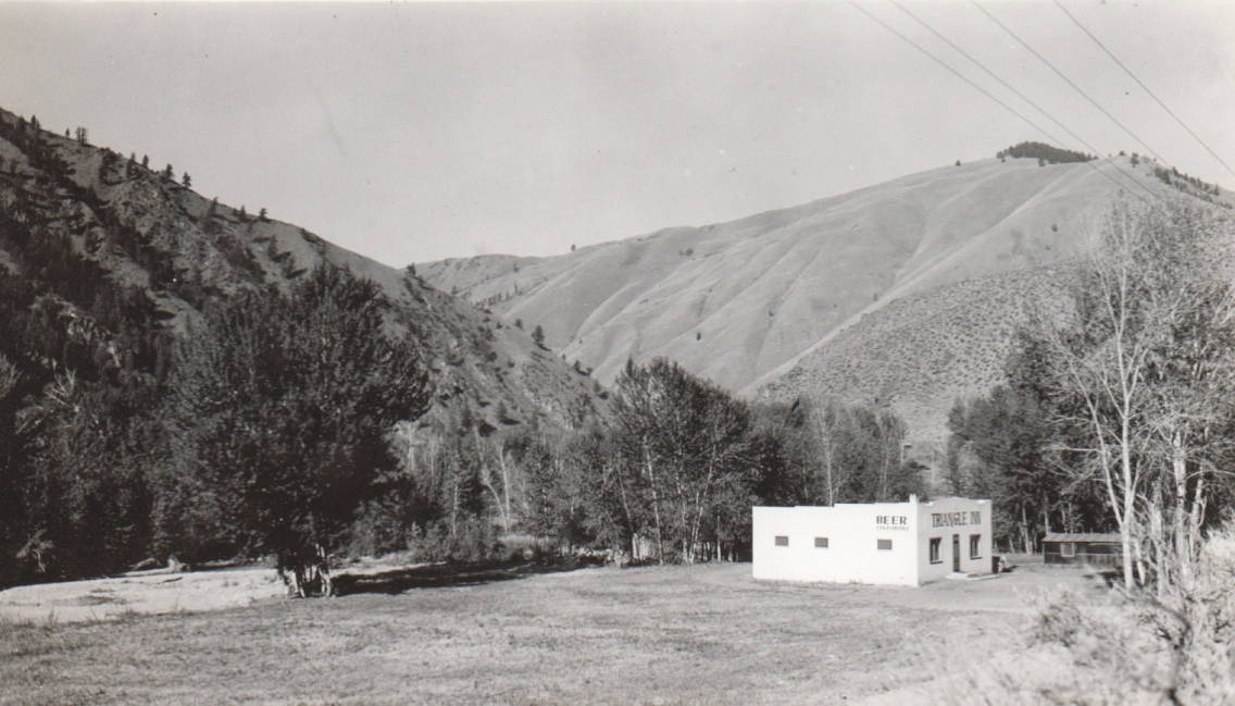 item thumbnail for Triangle Inn at junction of North Fork of the Salmon River