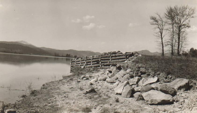 item thumbnail for Flood control project, Clark Fork River, Kalispel Reservation
