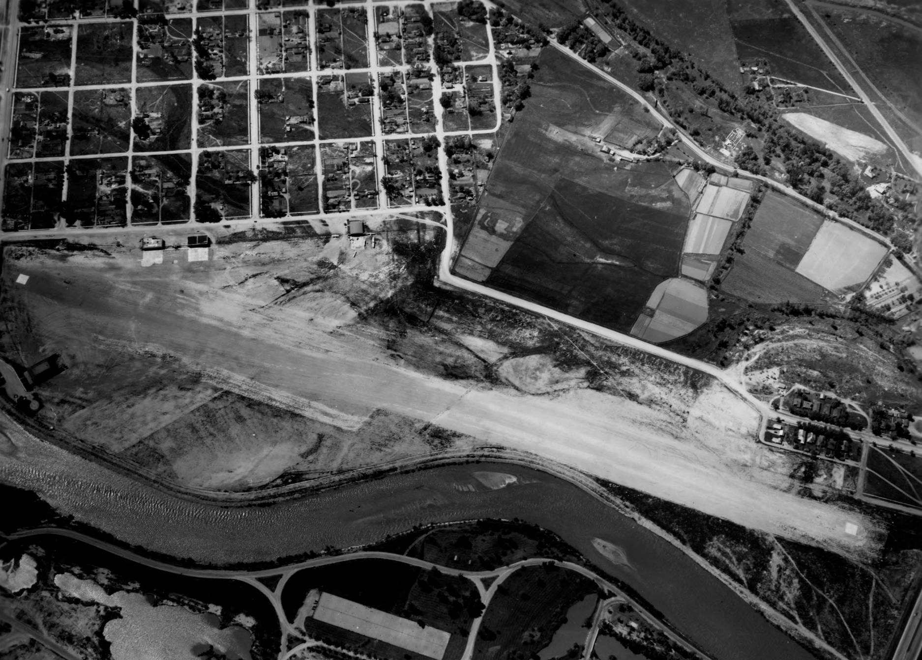 item thumbnail for Boise Airport site, wide aerial