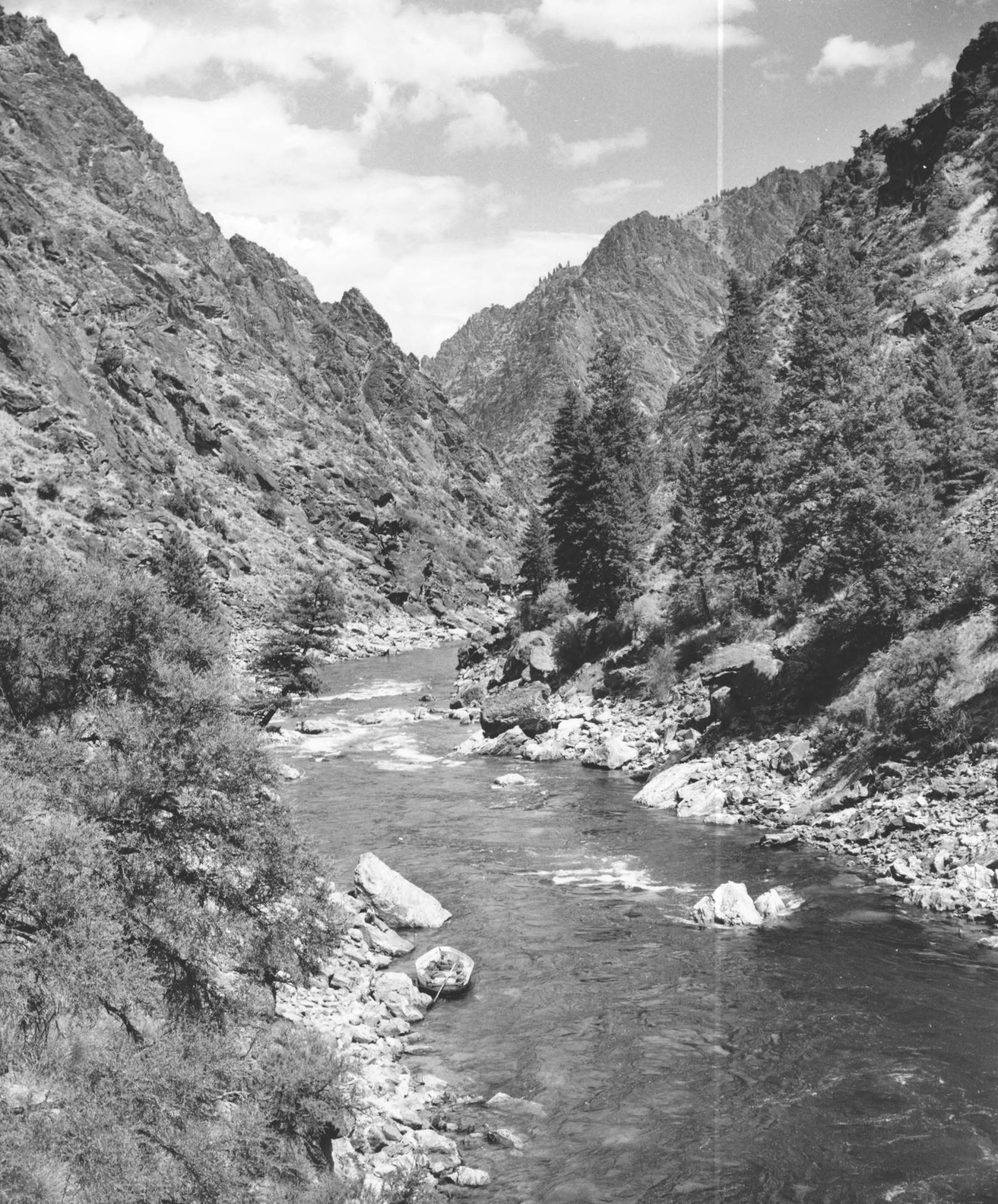 item thumbnail for Middle Fork of the Salmon River near confluence