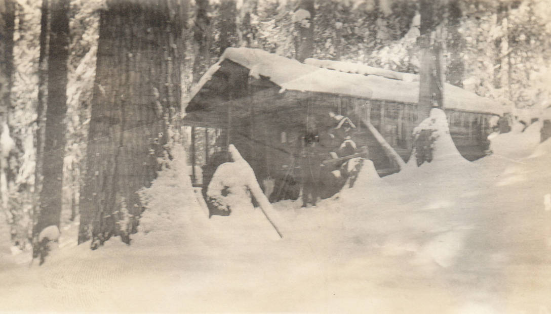 item thumbnail for Portfours cabin and claim, possible false homestead claim, Marble Creek