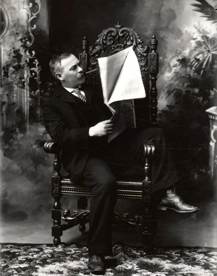 Portrait of Thomas Nathan Barnard