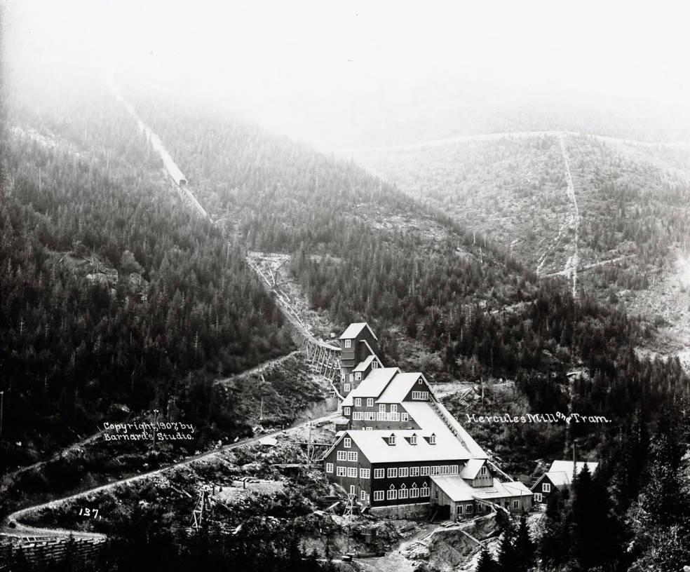 item thumbnail for Hercules Mill, Burke (Idaho), 1907 [02]
