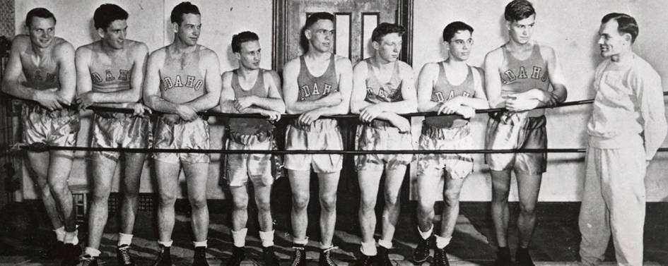 item thumbnail for 1941-1942 University of Idaho boxing squad