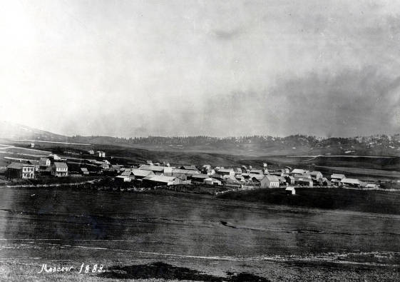 item thumbnail for Panoramic view of Moscow, Idaho
