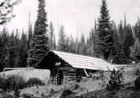 item thumbnail for Burpee Mine cabin. Dixie, Idaho.