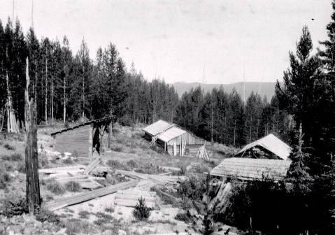 item thumbnail for Burpee Mine buildings. Dixie, Idaho.